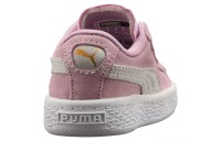 Chaussure sneaker Heritage Suede Classic Couleur Pink Lady-Puma White
