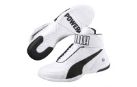Chaussure montante BMW M Motprsport Kart Cat Mid III Couleur Puma White-Anthracite