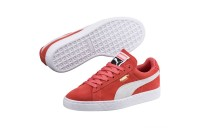 Basket Suede Classic Couleur Spiced Coral-Puma White