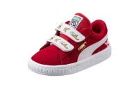 Minions Suede V Preschool Couleur High Risk Red-Puma White