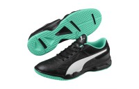 Chaussure Tenaz Indoor Teamsport Couleur Black-White-Green