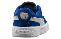 Chaussure sneaker Heritage Suede Classic Couleur Snorkel Blue-Puma White