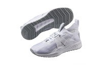 IGNITE evoKNIT Lo 2 Couleur Puma White-Quarry