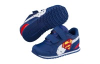 Basket Justice League ST Runner v2 pour enfant Couleur Limoges-White-High Risk Red