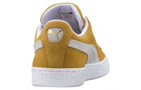 Suede Classic Couleur Honey Mustard-Puma White