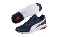 Basket Electron Couleur Peacoat-Puma White- Red