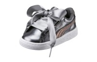 Chaussure Basket Heart Preschool Lunar Lux pour fille Couleur Smoked Pearl