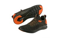 Chaussure de course IGNITE Flash evoKNIT Unrest pour homme Couleur Forest Night-Shocking Orange