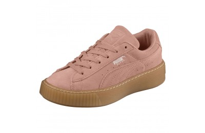 Suede Platform Jewel PS Couleur Peach Beige-Peach Beige