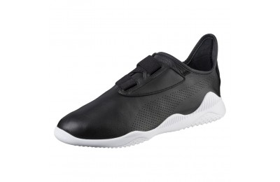 Basket Mostro en cuir Couleur Puma Black