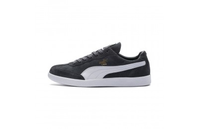 Basket Liga Suede Couleur Iron Gate-Puma White