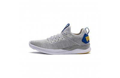 IGNITE Flash evoKNIT pour homme Couleur Gray-White-Blue-Yellow