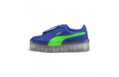 Cleated Creeper Surf FENTY pour femme Couleur Dazzling Blue-Green Gecko