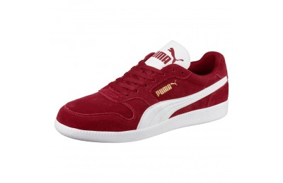 Basket Icra Suede Couleur Red Dahlia-Puma White