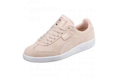 Madrid Perf Suede pour femme Couleur Cream Tan-White-Rose Gold