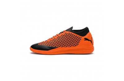 Chaussure de foot FUTURE 2.4 IT Couleur Black-Orange