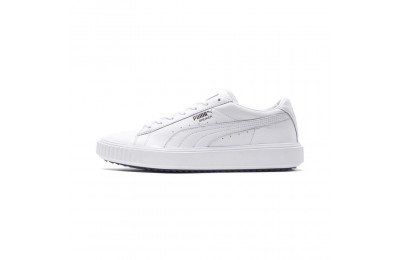 Basket Breaker Leather Evolution Couleur PWhite-PumaWhite-PumaBlack