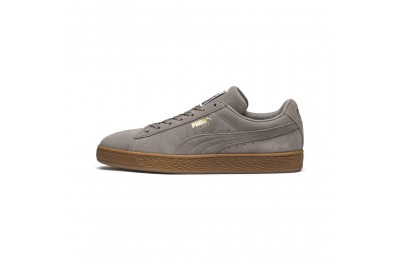 Suede Classic Couleur Elephant Skin- Team Gold
