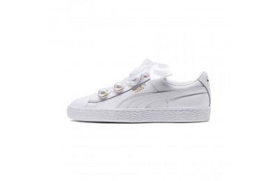 Basket Bling pour femme Couleur Puma White-Metallic Gold