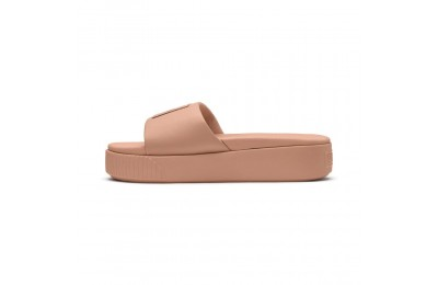 Platform Slide Wns Couleur Dusty Coral-Puma Black