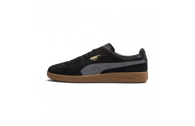 Basket Madrid Nubuk Couleur Puma Black-Iron Gate