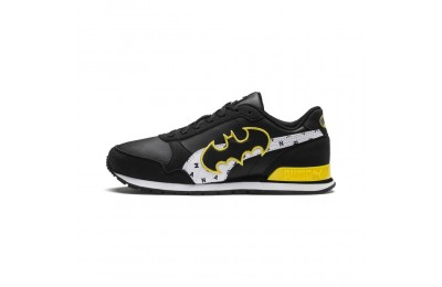 Basket Justice League ST Runner v2 pour enfant Couleur Puma Black-White-Dandelion