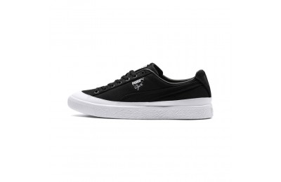 Basket Clyde Rubber Toe Couleur Puma Black-Puma White