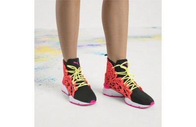 Basket Muse Echo Candy Princess PUMA x SOPHIA WEBSTER pour femme Couleur Puma Black-Fiery Coral