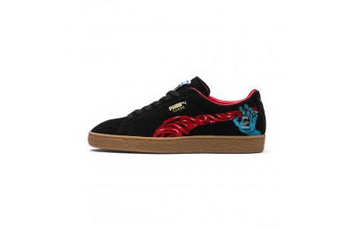 Basket Suede Classic PUMA x SANTA CRUZ Couleur Puma Black-High Risk Red