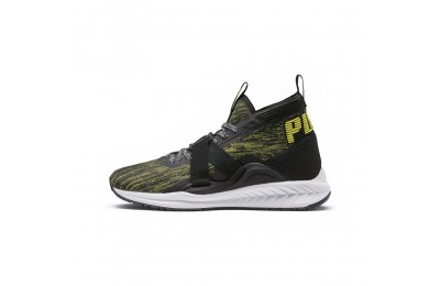 Basket IGNITE evoKNIT 2 City Lights Couleur PBlack-Lemon Tonic-Asphalt