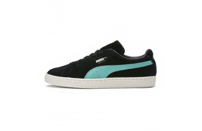 Basket Suede PUMA x DIAMOND Couleur Puma Black-Diamond Blue