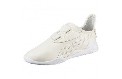 Basket Mostro en cuir Couleur Whisper White