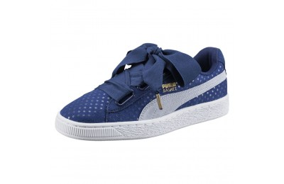 Chaussure Basket Heart Denim pour femme Couleur TWILIGHT BLUE-HALOGEN BLUE
