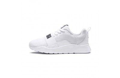 Basket PUMA Wired Couleur Puma White-Puma White-White