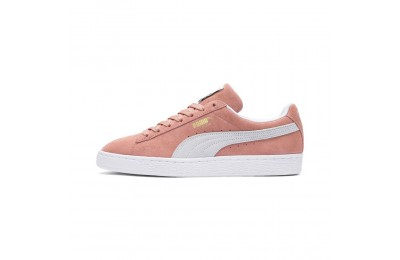 Suede Classic Couleur Muted Clay-Puma White