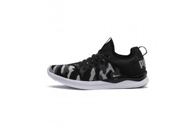 Chaussure de course IGNITE Flash Camo pour homme Couleur Puma Black-Iron Gate-Quarry