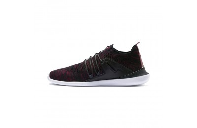 Basket Ferrari Evo Cat Sock Lace Couleur MoonlessNight-Pomegranate