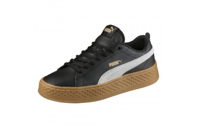 Puma Smash Platform L Couleur Puma Black-Puma White