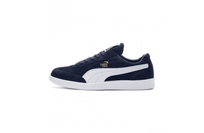 Basket Liga Suede Couleur Peacoat-Puma White