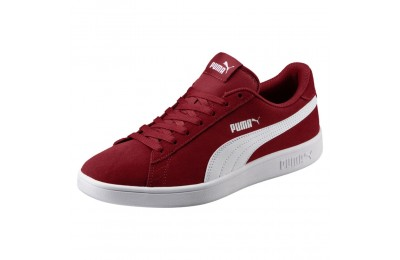 Basket Smash v2 Couleur Red Dahlia-Puma White