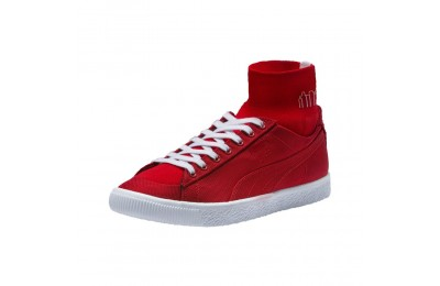 Basket Clyde Sock x MANHATTAN PORTAGE Couleur High Risk Red-High Risk Red