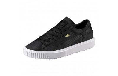 Basket Breaker Suede Couleur Puma Black