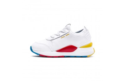 Basket RS-0 PLAY Alternate-Closure pour bébé Couleur White-Puma White-White