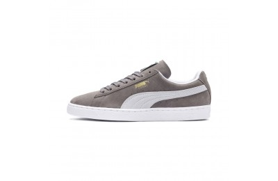 Basket Suede Classic+ Couleur steeple gray-white