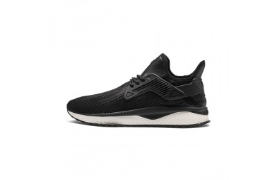 Basket TSUGI Cage Premium Couleur Puma Black-Whisper White