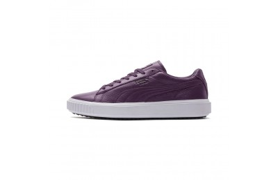 Basket Breaker Leather Evolution Couleur ShadowPurple-P White-P Black