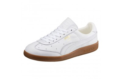 Madrid Premium Couleur Puma White-Puma Team Gold