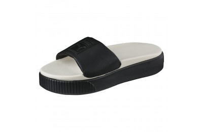 Platform Slide Wns Couleur Puma Black-Whisper White