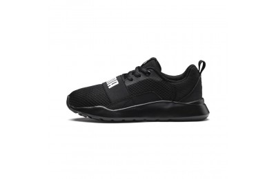 Basket PUMA Wired Couleur Puma Black-Puma Black-Black