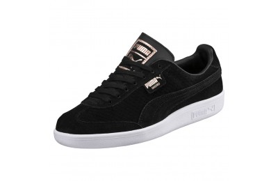 Madrid Perf Suede pour femme Couleur Puma Black-White-Rose Gold